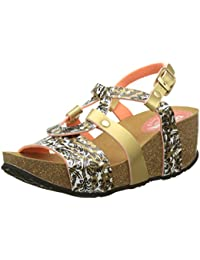 Desigual Bio 9 Save the Queen, Heels Sandals para Mujer