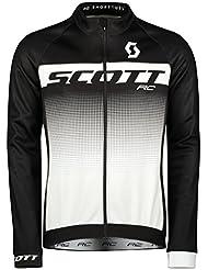 Scott RC AS Fahrrad Windjacke schwarz/weiß 2018
