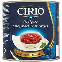 Cirio Polpa tomates picados 2550g (paquete de 6 x 2.55kg)