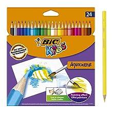 BIC Kids Aquacouleur Colouring Pencils 24 Pack