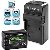 Baxxtar RAZER 600 II chargeur 5 en 1 + PATONA Premium batterie pour Panasonic VW VBT190 (authentique 2020mAh) -- Nouveauté avec entrée USB Micro et sortie USB, permet de charger simultanément appareil photo, caméra GoPro, iPhone, tablette, smartphone, etc.