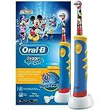 Oral-B Stages Power Advanced elektrische Zahnbürste Mit Micky Maus-Figuren