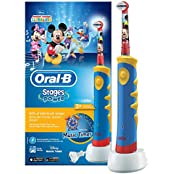 Oral-B Stages Power Advanced elektrische Zahnbürste Mit Micky Maus-Figuren