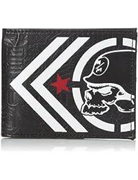 Metal Mulisha Men's Traced Wallet Black
