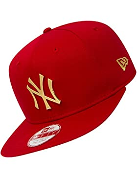 Gorra New Era – 9Fifty Mlb New York Yankees Metal Badge rojo/dorado talla: M/L
