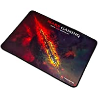 Mars Gaming MMP1 - Alfombrilla gaming para PC (apta para sensor óptico y láser, base de caucho natural, bordes reforzados, alta comodidad, universal, diseño, 35 x 25 cm)