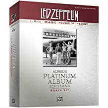 Led Zeppelin Authentic Guitar Tab Edition Boxed Set: Alfred's Platinum Album Editions (Alfred's Platinum Albums)