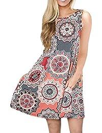 mehrfarbig Blume Freizeitkleid langärmelig Gummilitze schulterfrei Herbst Kleid
