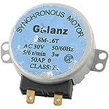 TOOGOO(R) Sm-16t ac 30v 3.5 / 4w 5 / 6rpm motor sincrono para Galanz el horno microondas