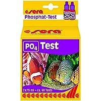 Sera 04930fosfatos prueba (P04), prueba de agua para aprox. 60mediciones, mide fiable y precisa el contenido de fosfatos, para dulce de & Mar Agua, en acuario o Estanque
