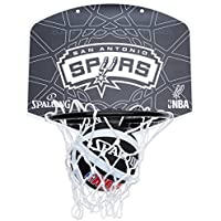 Spalding Miniboard SA Spurs - Tablero de Pared de Baloncesto, Color, Talla única