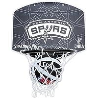 Spalding Miniboard SA Spurs - Tablero de pared de baloncesto, color multicolor, talla única