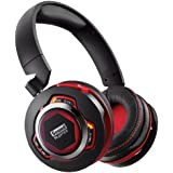 Creative Sound Blaster EVO ZXR Wireless - Casque Micro Gaming - Carte Son Intégrée - Triple ANC - Multimédia Bluetooth/NFC