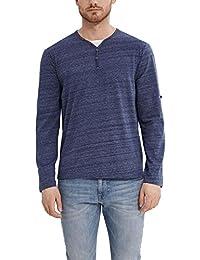 Esprit 027ee2k049-Henley, T-Shirt Homme