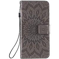 Funda de cuero para Oppo Reno4Pro 5G PU cuero magnético Flip Cover con ranuras para tarjetas Bookstyle Wallet Case para Oppo Reno4Pro 5G - JEKT033154 Gris