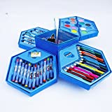 Grab Offers New Art Set,Colors Box Color Pencil,Crayons, Water Color, Sketch Pens Set Of 46 Pieces For Kids Best Birthday Gift. (Colour Box - 1 Pcs)
