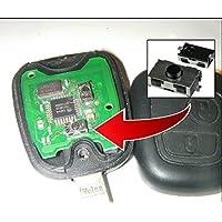 Switch Button botón Remote Key CLE mando a carcasa fob Peugeot 106107206207306307406Partner Boxer© CLEPLIP