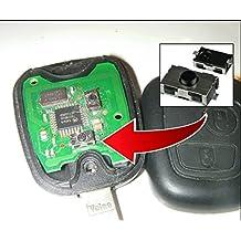 Interruptor a distancia soldar Switch Button botón Remote Key CLE Schlüssel–Carcasa Fob Peugeot Special 307© CLEPLIP