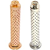 KRIWIN® Combo Of Safety Agarbatti Stand With Dhoop Holder On Top Gold Plated & Silver Plated 26 X 7.6 X 5.2 Cm