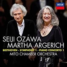 Beethoven: Symphony No.1; Piano Concerto No.1