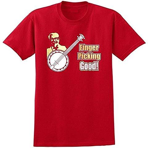 Banjolele Banjo Ukulele Finger Picking Good - Musica T Shirt 13 Taglia 5 Anni - 6XL 9 Colori