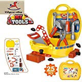 Vibgyor Vibes Ready Your Own Bring Along Pretend Play Tool Set/Kit in A Ready to Go Suitcase