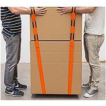 2x correa Mudanzas elevación transporte, hasta 900kgs, objetos pesados, entrega EXPRESS con Amazon.
