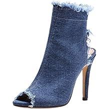 5b7a6b5ac9caf Suchergebnis auf Amazon.de für: sommer boots damen lochmuster