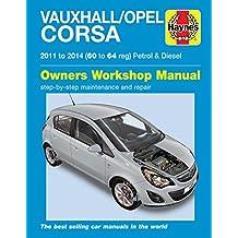Vauxhall/Opel Corsa Petrol & Diesel (11-14) 60 To