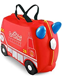 Trunki The Original Bagage Cabine Enfant à chevaucher, Red (Rouge) - 0254-GB01-UKV