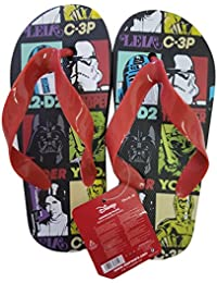 f7024ffed6bf77 takestop® Flip Flops Star Wars Disney Rot Schwarz Leila Stormtrooper Yoda  Anzahl 26 Flip Flop Kinds Kinder Sandalen Badeschuhe Meer…
