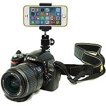 DSLR zapata destello soporte de cámara para iPhone 6S plus/iPhone 6s