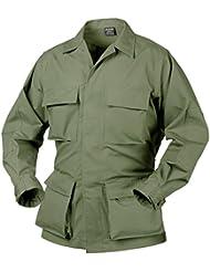 Helikon genuino BDU Camisa Nyco Ripstop oliva tamaño L