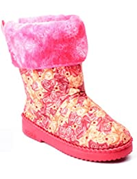 Willywinkies Girls Boots - Red Color - 8106