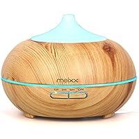 MEIXX Ultrasonic Duftöldiffusoren 300ML,Mini Luftbefeuchter Und Aromatherapie Essential oils Diffuser, Mit 7 LED... preisvergleich bei billige-tabletten.eu