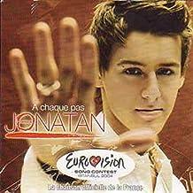 EUROVISION 2004 France : Jonatan Cerrada A chaque pas 1 track CARD SLEEVE - 1) A chaque pas - CDSINGLE