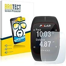 2x BROTECT Displayschutzfolie Polar M400 Schutzfolie Folie - Klar, Anti-Fingerprint
