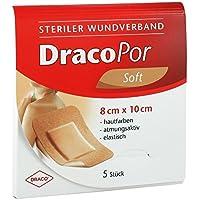 DracoPor soft steril 8 cm x 10 cm Pflaster, 5 St. preisvergleich bei billige-tabletten.eu