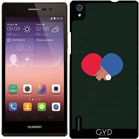 Custodia per Huawei Ascend P7 - Ping-pong E Palla Bat by ilovecotton