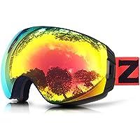 ZIONOR Lagopus X7 Occhiali da sci con Veloce Lente che