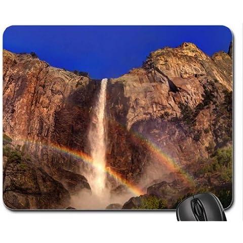 CALIFORNIA - cascada Yosemite cojín de ratón, Mousepad (cataratas cojín de ratón)
