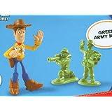 Disney - Toy Story 3 - T0434 - Buddy Pack - ca. 5-6cm Figuren - Waving Woody & Green Army Men