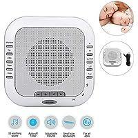 Einschlafhilfe, White noise machine zur Geräuschunterdrückung durch weißes Rauschen beruhigenden Umgebungsgeräuschen... preisvergleich bei billige-tabletten.eu