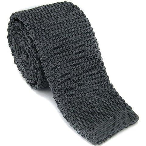 Durham Ties -  Cravatta  - Uomo nero Charcoal Taglia unica