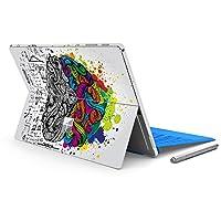 ملصق مائي لجهاز الكمبيوتر المحمول MasiBloom لـ 12.2 بوصة Microsoft Surface Pro 6 2018 & New Surface Pro 2017 & Pro 4 غطاء واقي من الفينيل المضاد للخدش (لجهاز Surface Pro 6/ Pro 5/ Pro 4، برين)