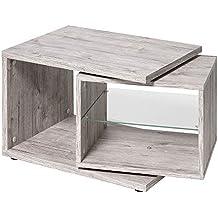 Se puede girar nachtkommode lado de mesa de café mesa 643-001 Nele arena del roble de la fiebre aftosa