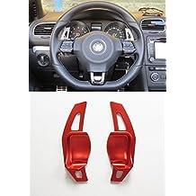 Pinalloy Rojo DSG Dirección de Extensión de la rueda Paddle Shifter para ...