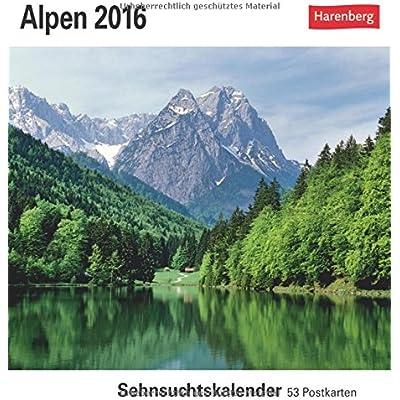 Alpen 2016 Sehnsuchtskalender 53 Postkarten Pdf Epub Juliuslynwood