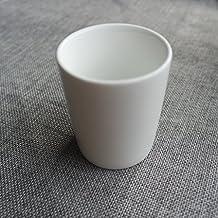 Envío GRATIS. TBSB Magnesia Porcelana Ceramica Blanca Taza, Taza, Taza,B