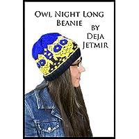 Owl Night Long Beanie (English